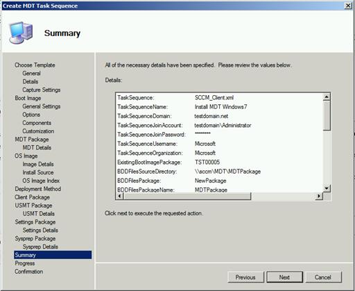 SCCM 2012 R2 and MDT – MDT Task Sequence